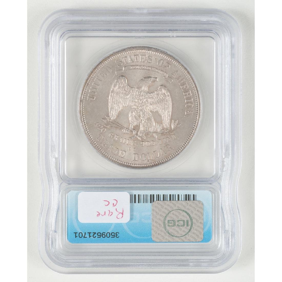 United States Trade Dollar 1874-CC, ICG MS62 - 2