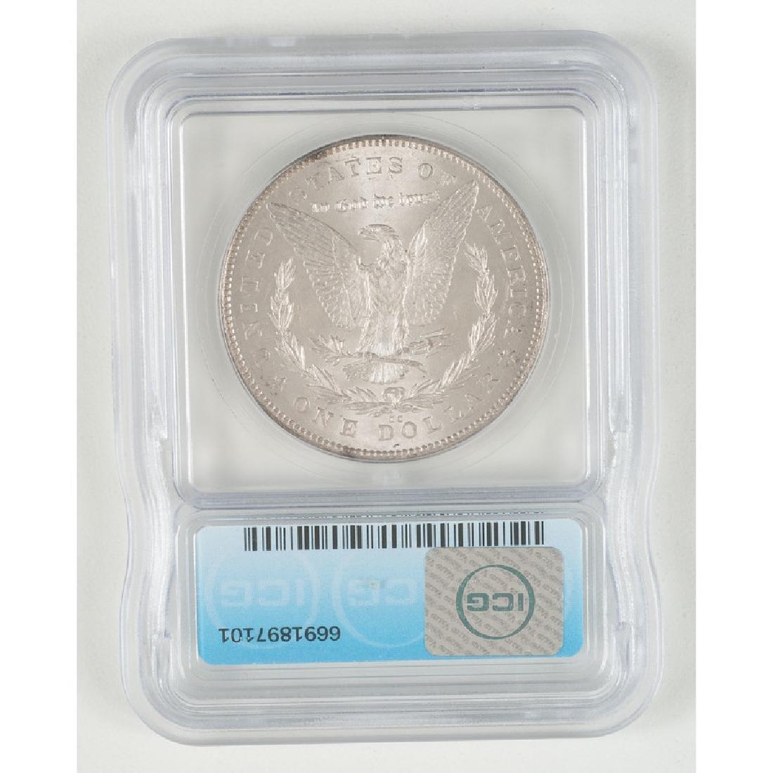 United States Morgan Silver Dollar 1878-CC, ICG MS64+ - 2