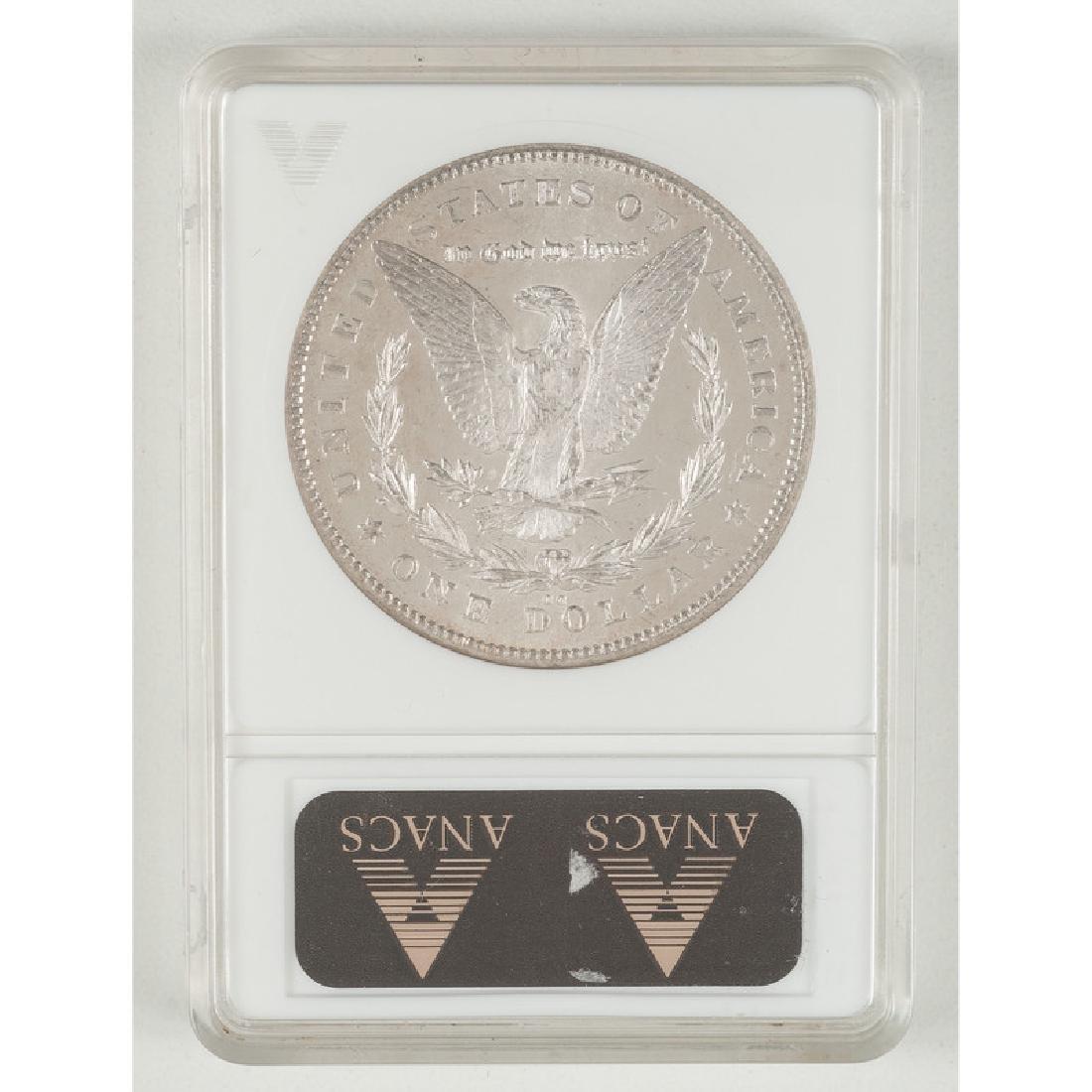 United States Morgan Silver Dollar 1878-CC. ANACS MS63 - 2