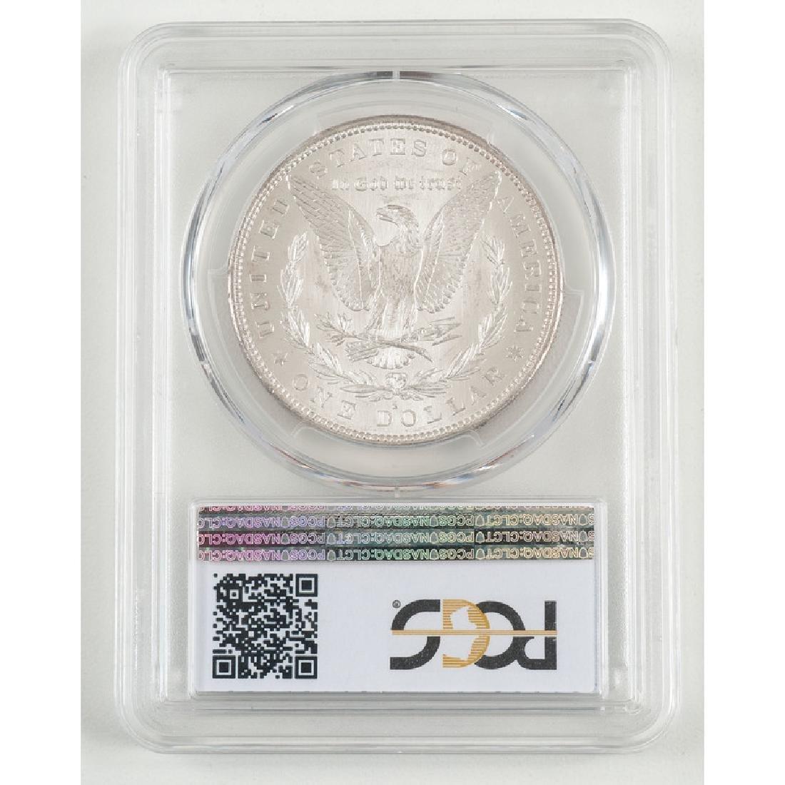United States Morgan Silver Dollar 1879-S, PCGS MS65+ - 2