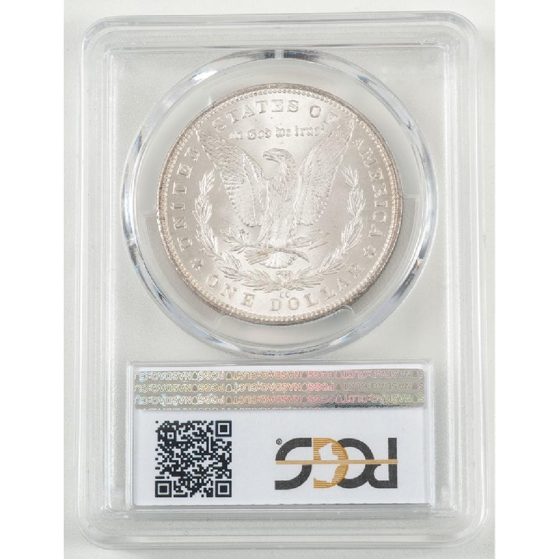 United States Morgan Silver Dollar 1881-CC, GSA, PCGS - 2