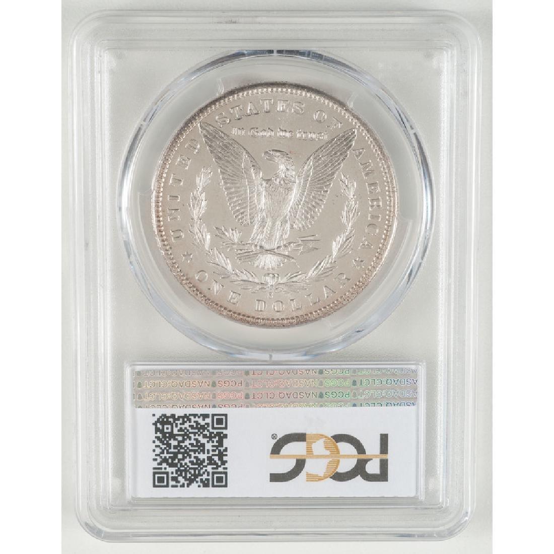 United States Morgan Silver Dollar 1881-S, PCGS MS65 - 2