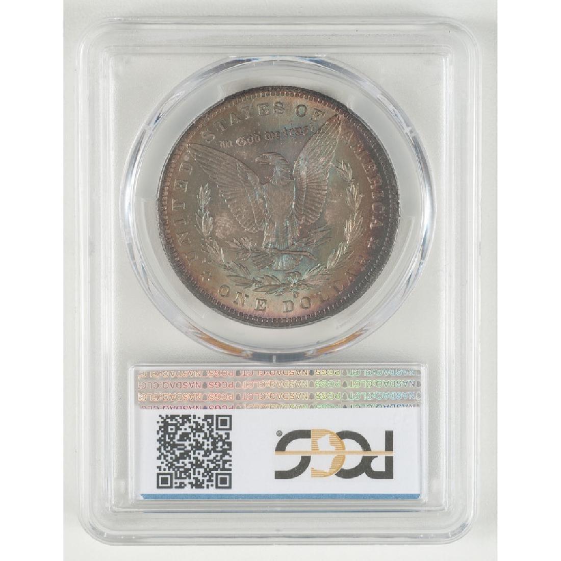 United States Morgan Silver Dollar 1884-O, PCGS MS66 - 2