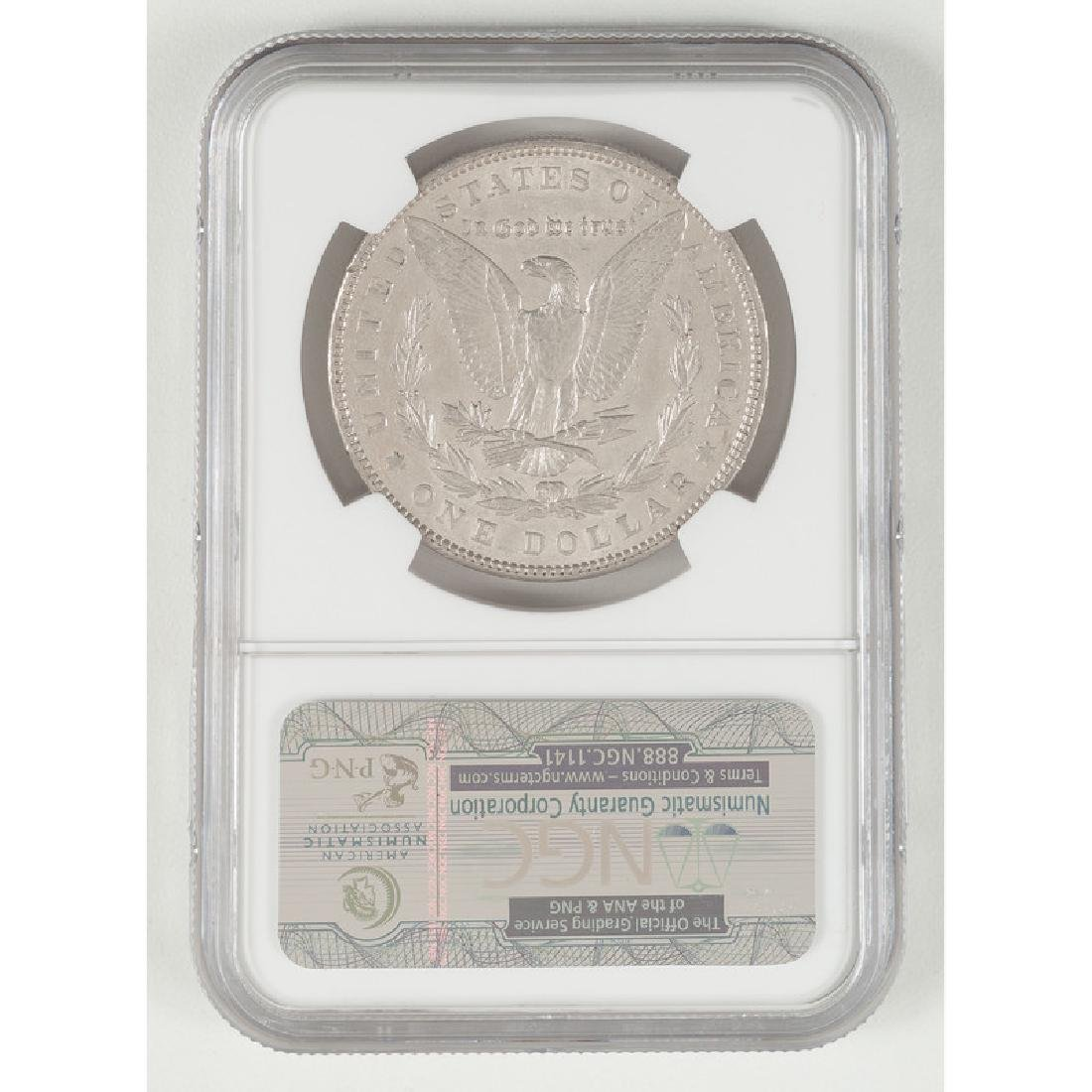 United States Morgan Silver Dollar 1901, NGC AU53 - 2