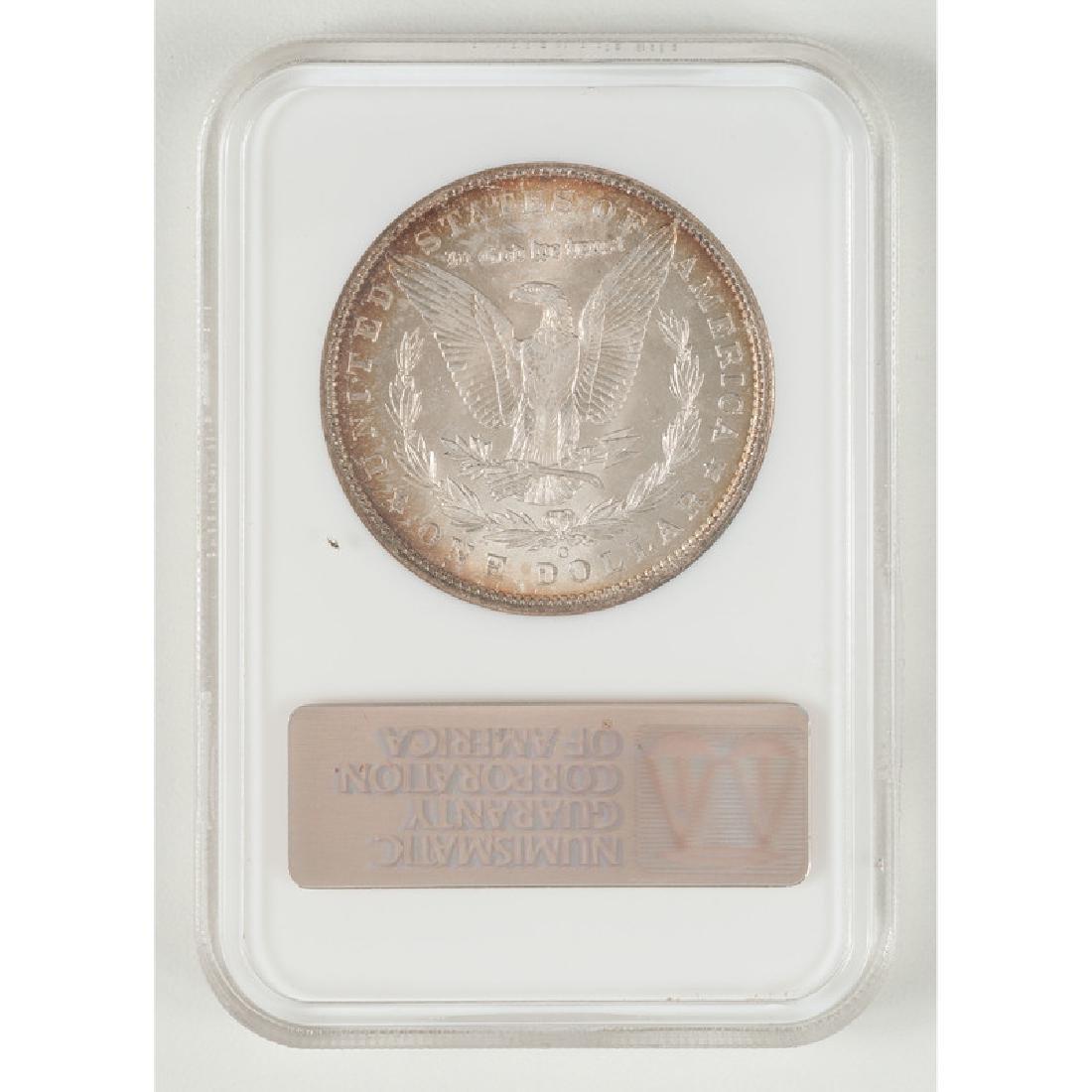 United States Morgan Silver Dollar 1904-O, NGC MS65 - 2