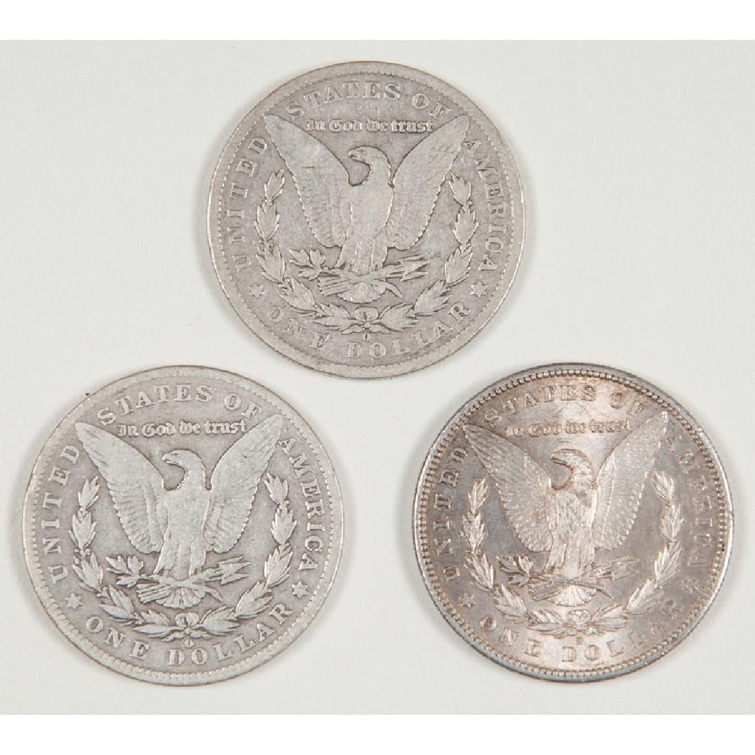 United States Morgan Silver Dollars 1881-S, 1901-O, - 2