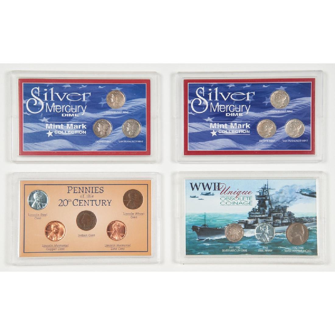 Assorted Proof Sets and Collector Sets of United States - 2