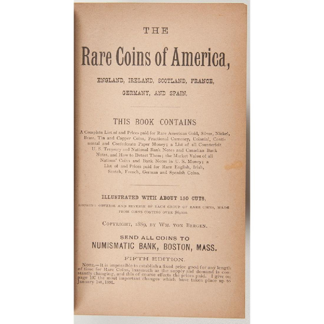 Rare Coin Booklets PLUS - 5