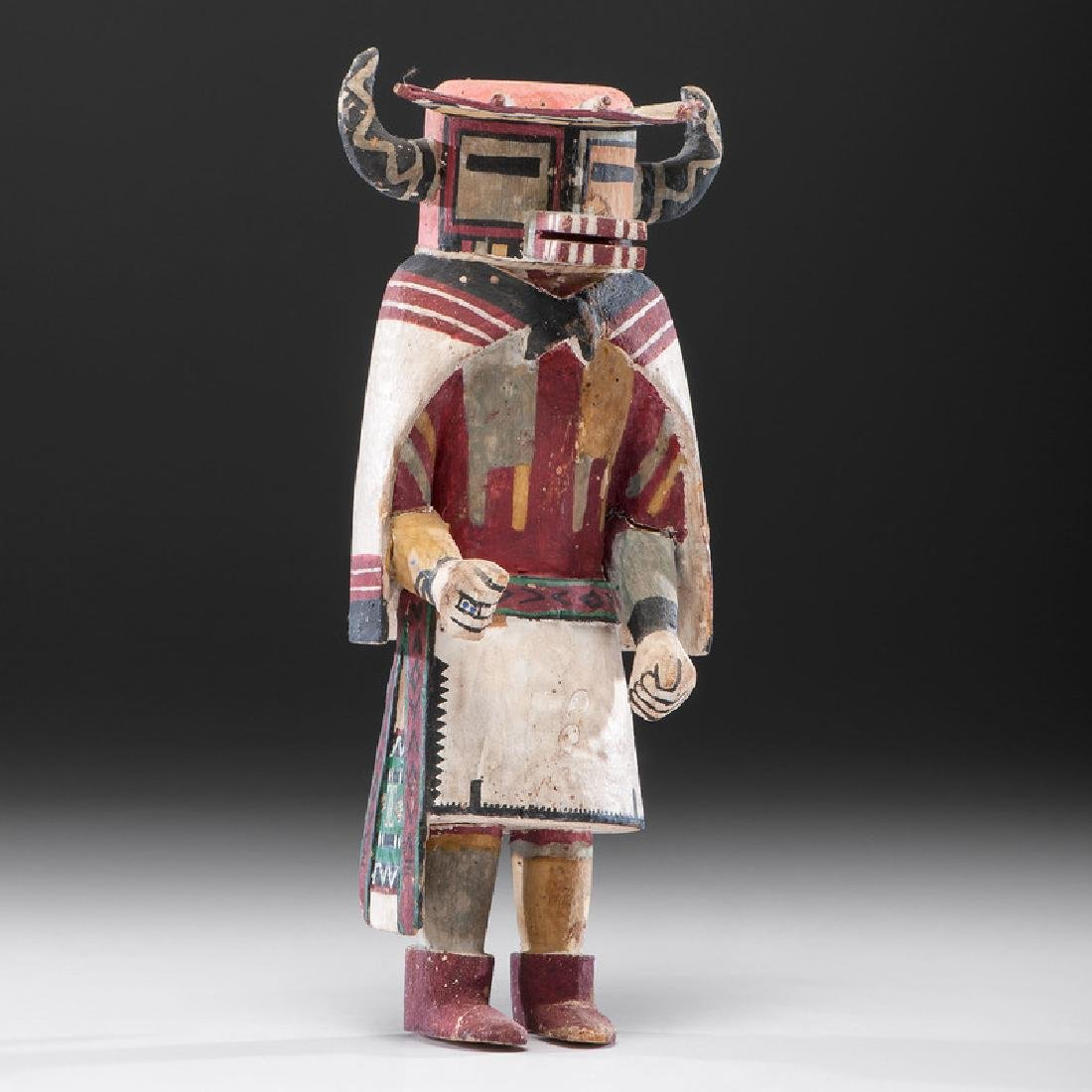 A Hopi Katsina, From the Collection of Charles McNutt,