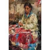 Ramon Kelly (American, b. 1939) Oil on Canvas