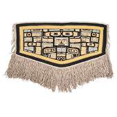 Tlingit Chilkat Blanket, From the Collection of William