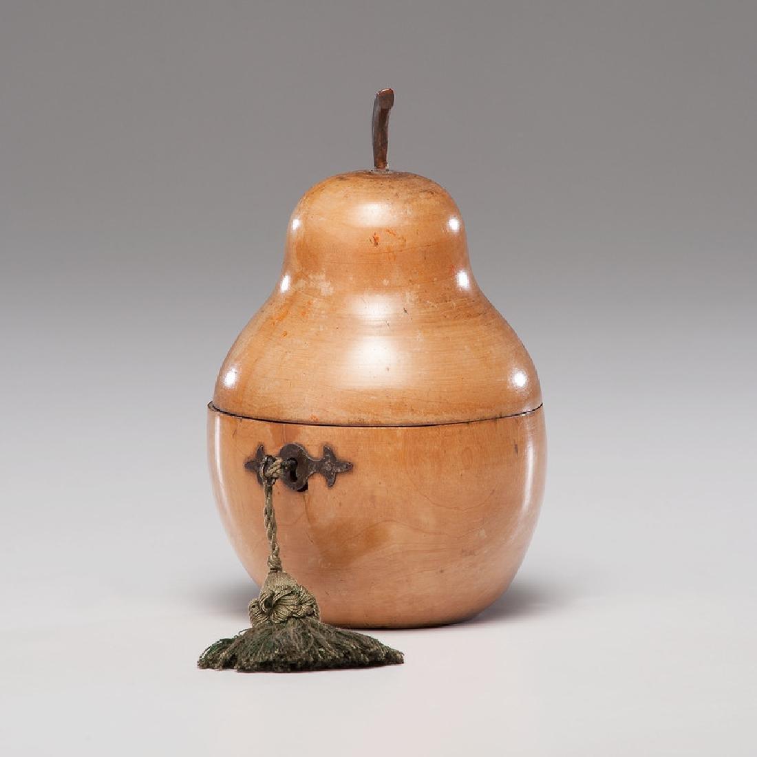 Fruitwood Pear Tea Caddy