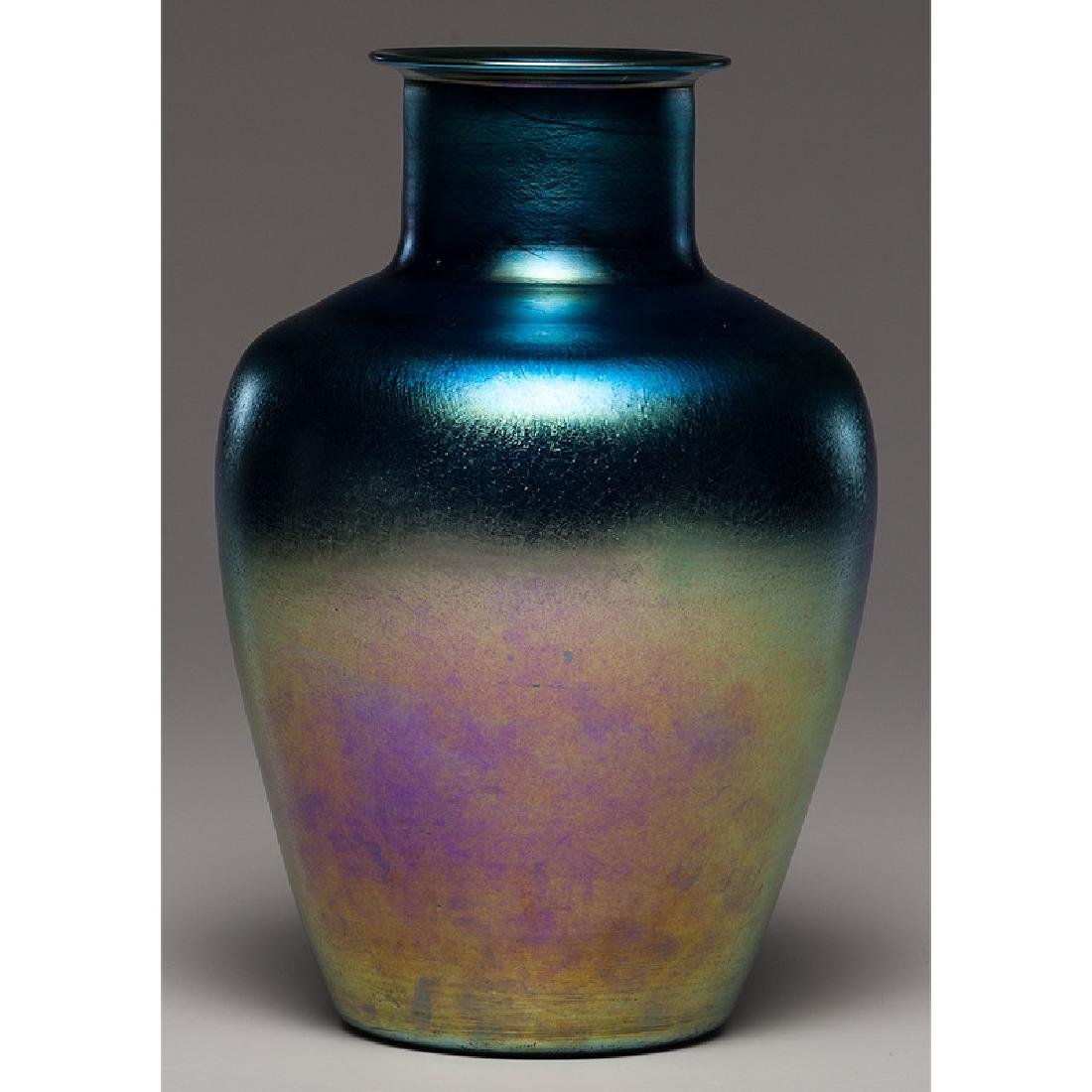 Tiffany Furnaces Favrile Vase - 2