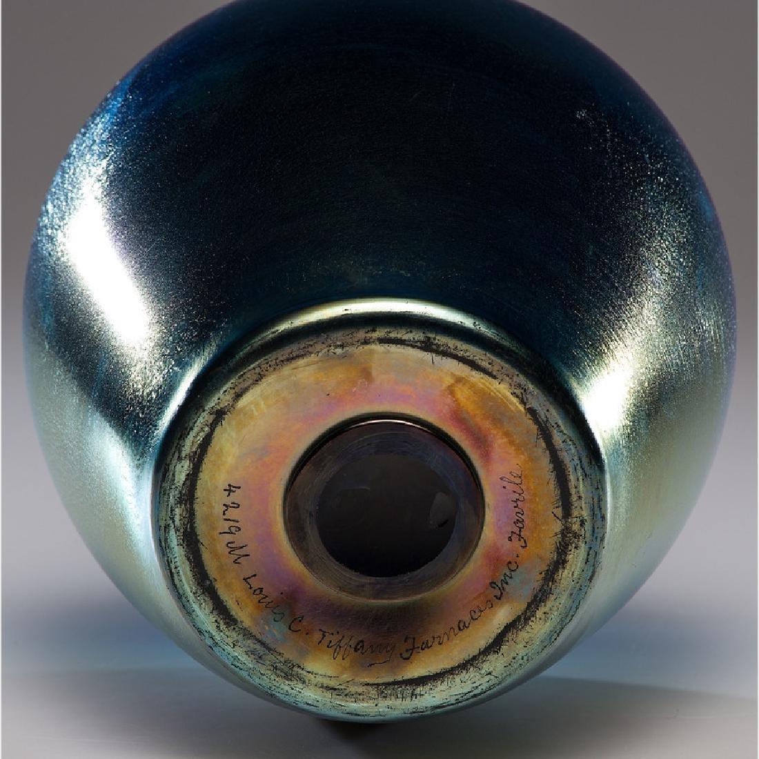 Tiffany Furnaces Favrile Vase - 4