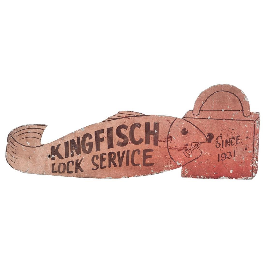 Locksmith's Metal Trade Sign