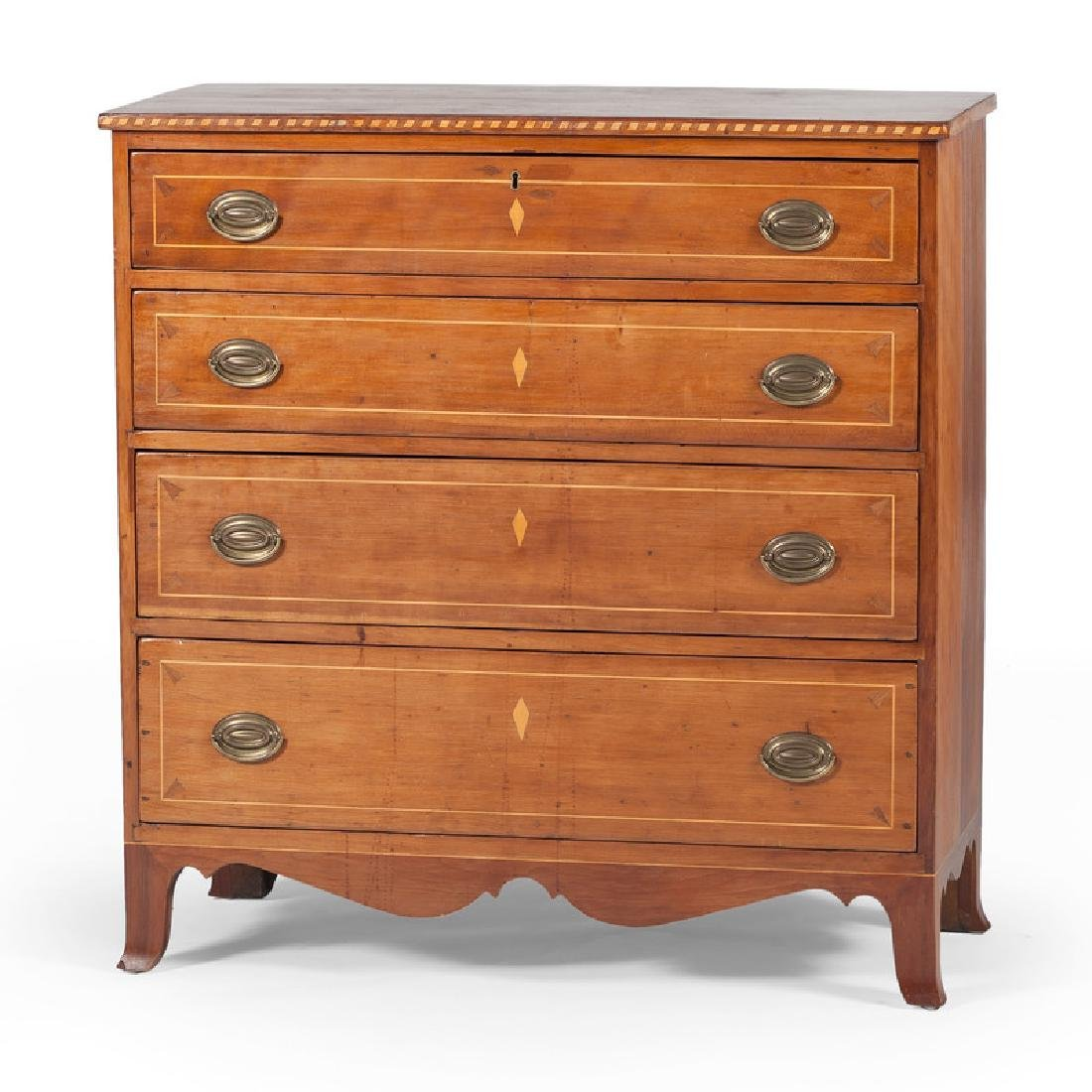 Federal Inlaid Chest of Drawers
