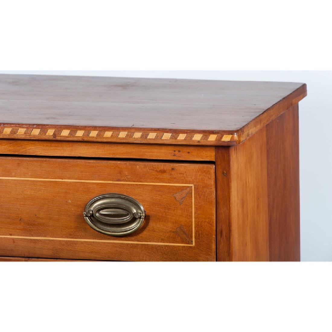 Federal Inlaid Chest of Drawers - 3