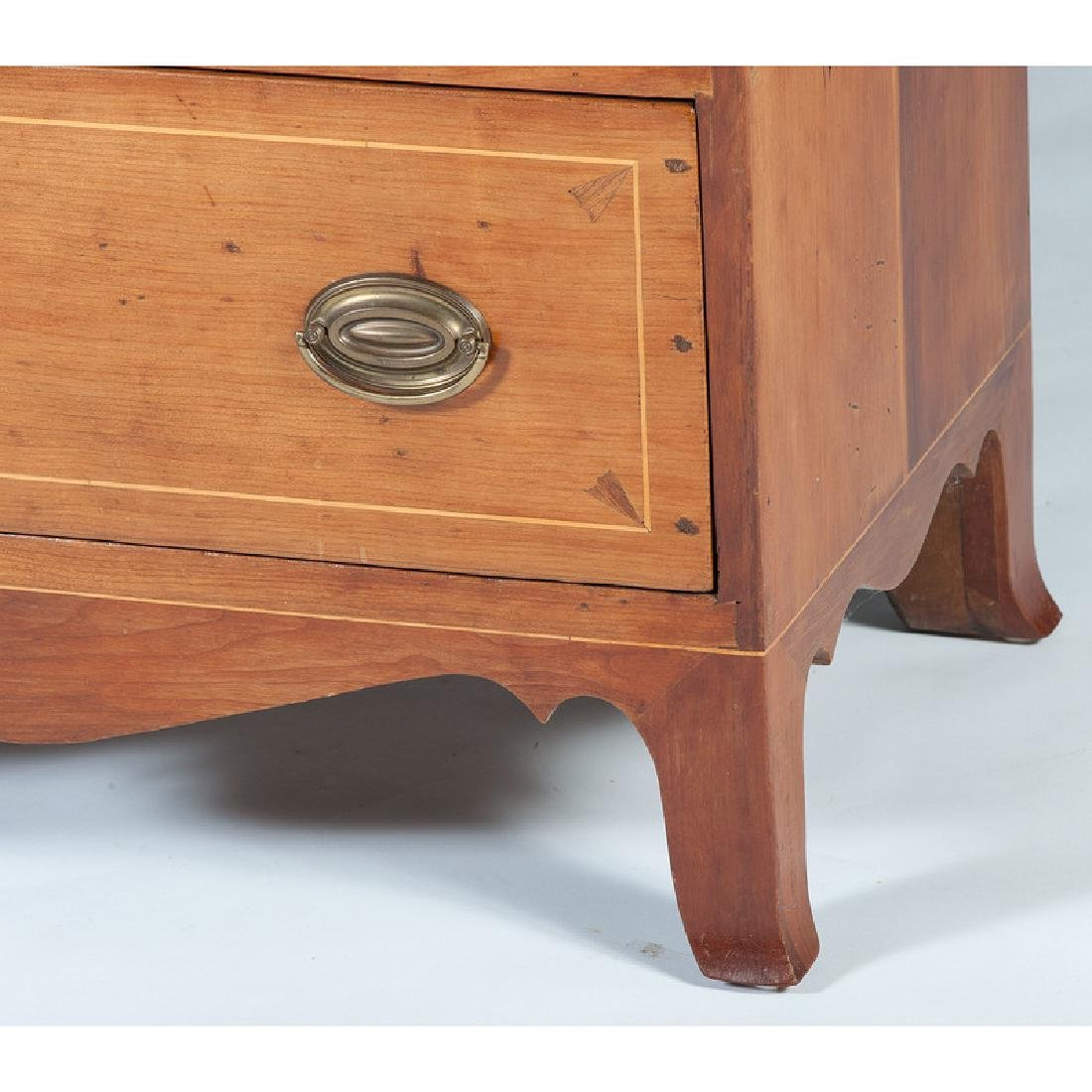Federal Inlaid Chest of Drawers - 4