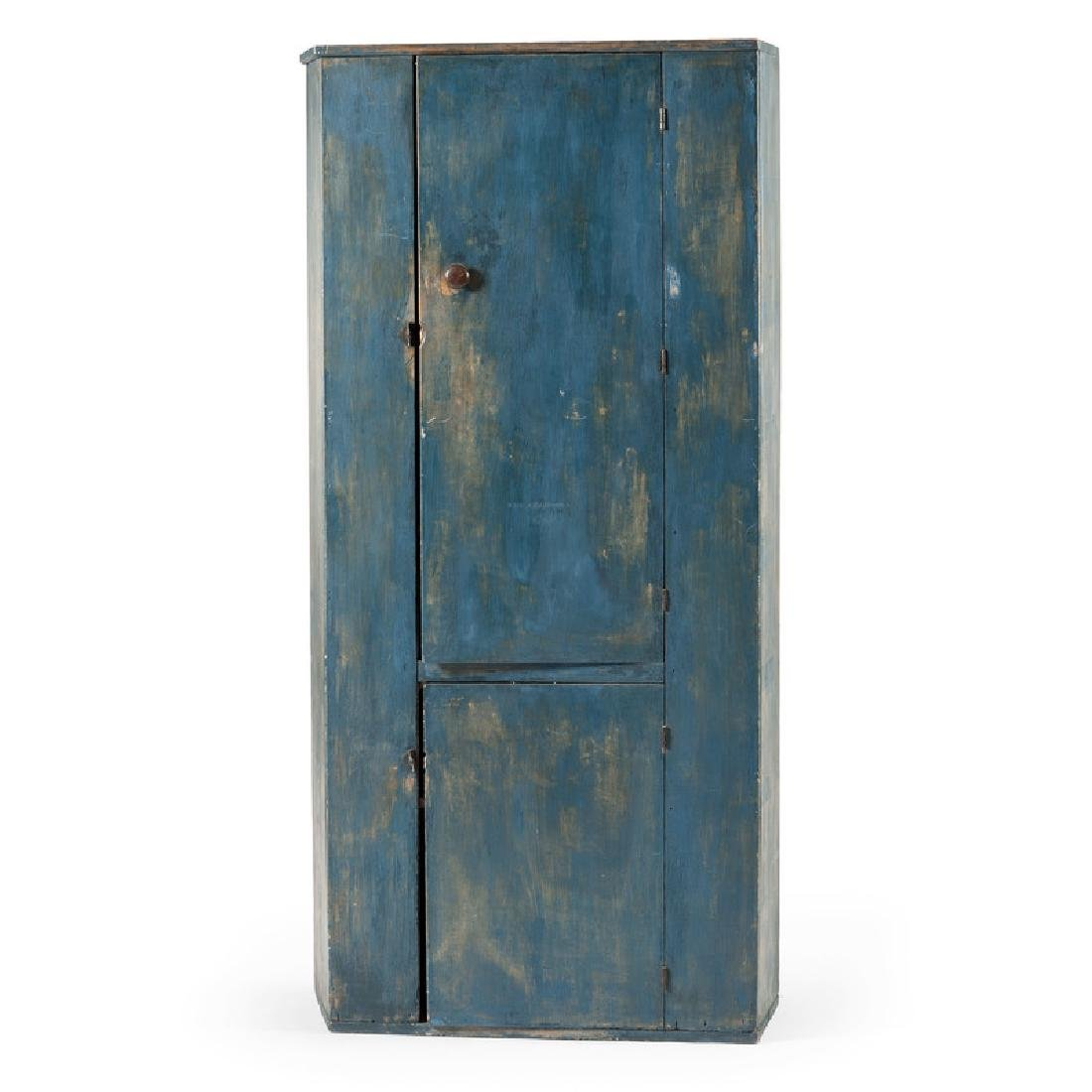 Cupboard in Blue Paint