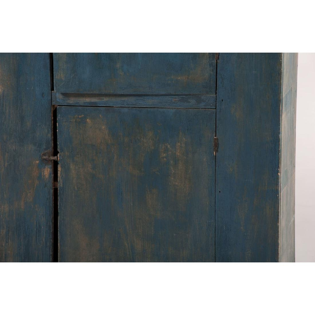 Cupboard in Blue Paint - 3
