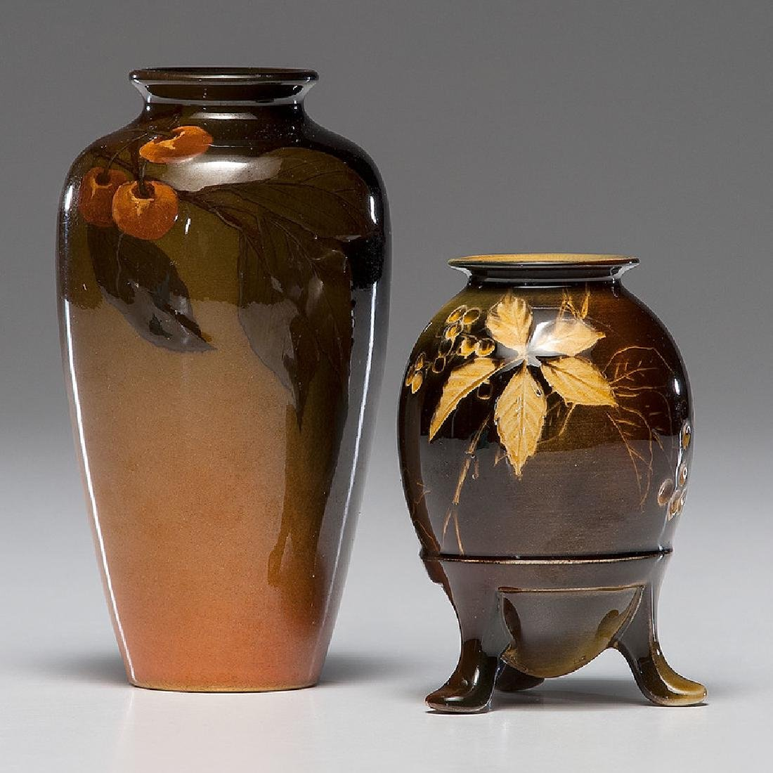 Rookwood Standard Glaze Vases