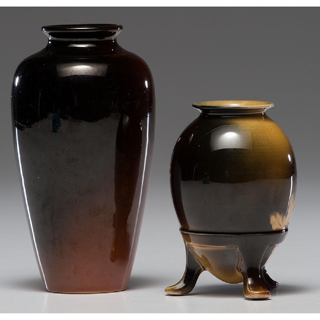 Rookwood Standard Glaze Vases - 2