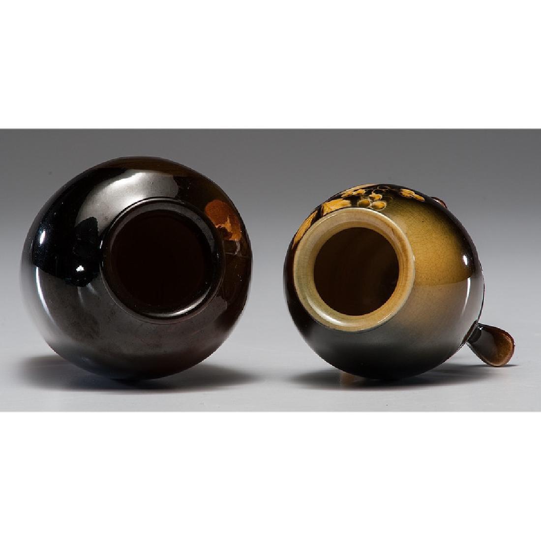 Rookwood Standard Glaze Vases - 3