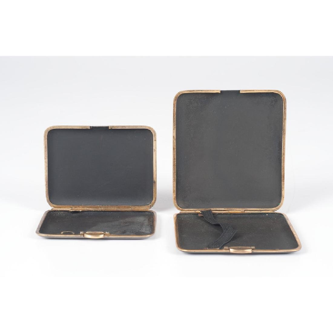 Japanese Komai-style Card and Cigarette Cases - 2