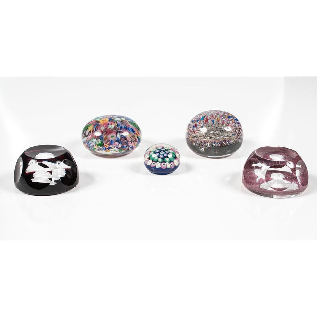 Glass Paperweights - 3