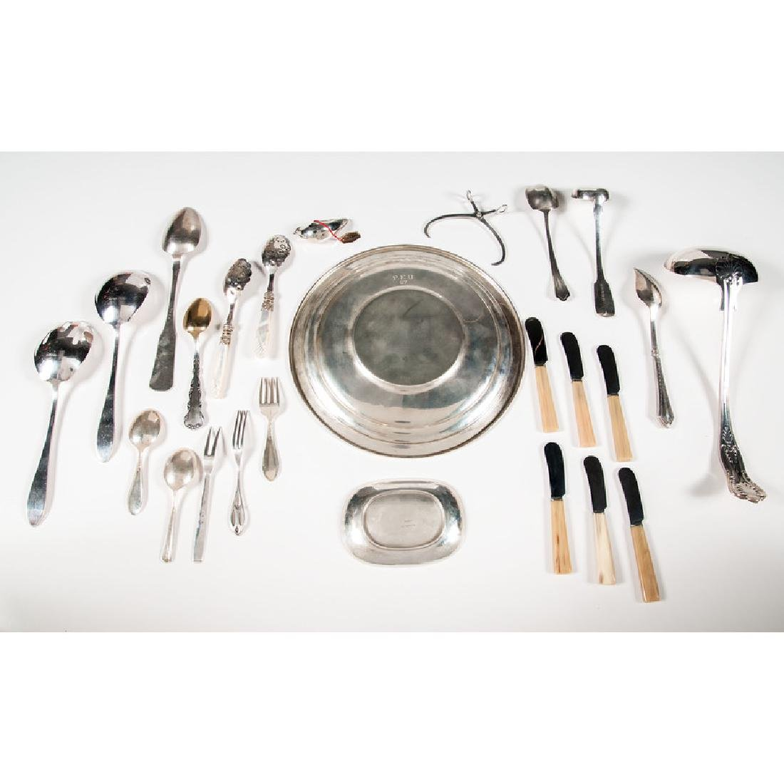 Reed & Barton Sterling Plate and Other Silver, Plus - 2
