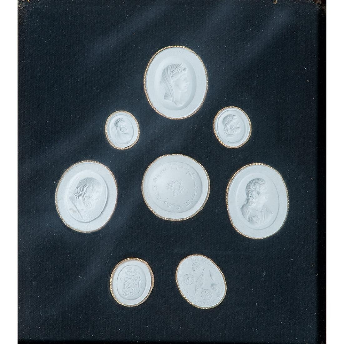 Classical Plaster Silhouettes and Medallions