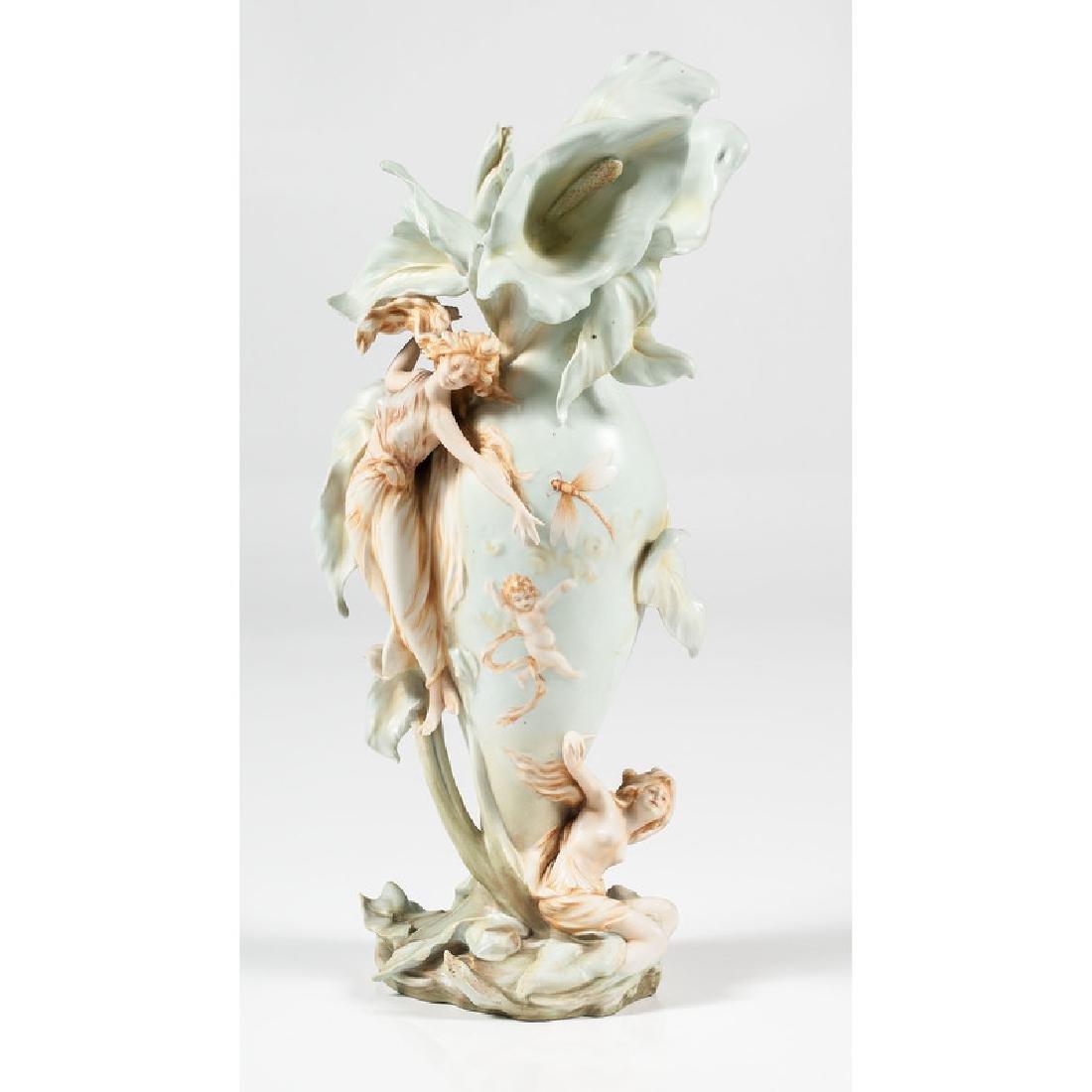 German Art Nouveau Vase