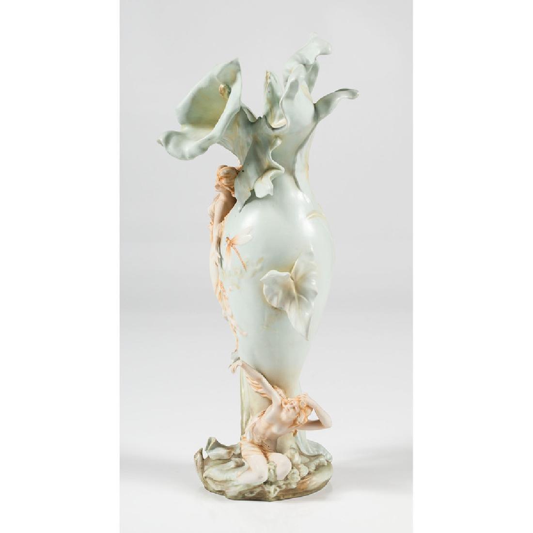 German Art Nouveau Vase - 2