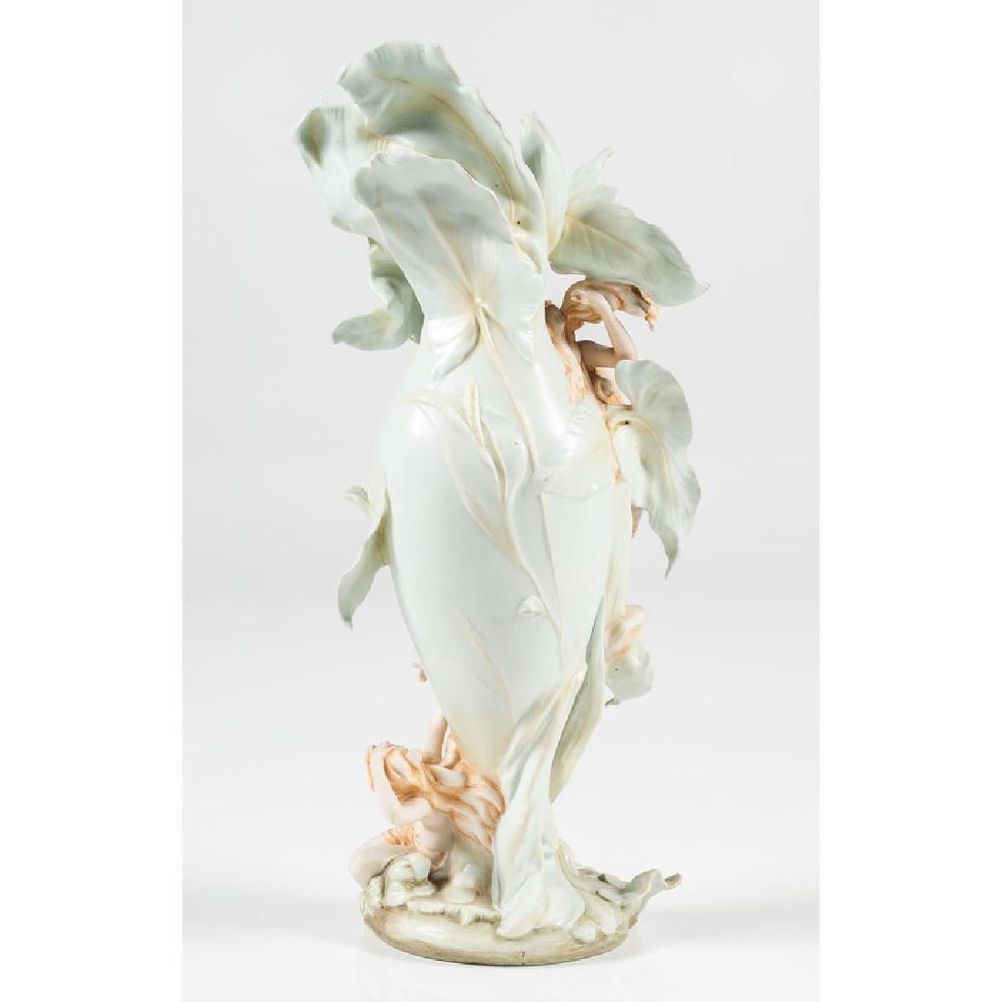 German Art Nouveau Vase - 3