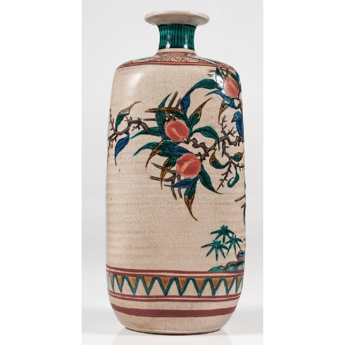 Japanese Kutani Vase - 3