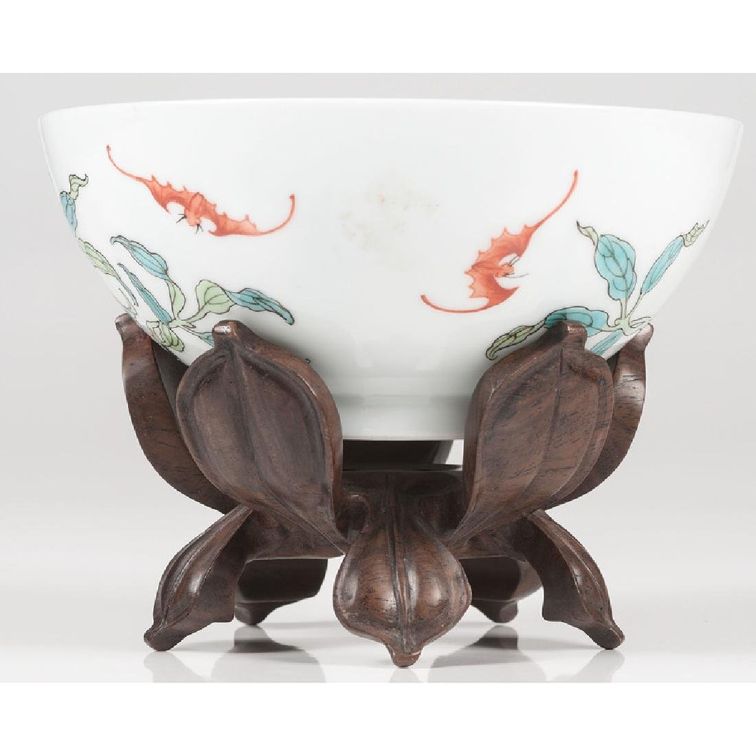 Chinese Famille Rose Nine-Peach Bowl - 2