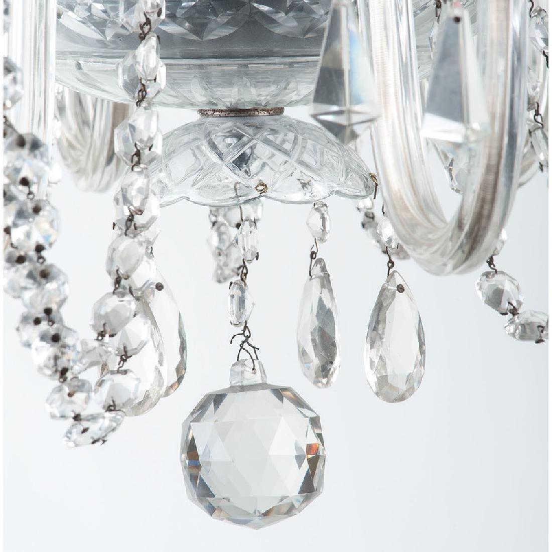 Pressed Glass Chandelier - 5