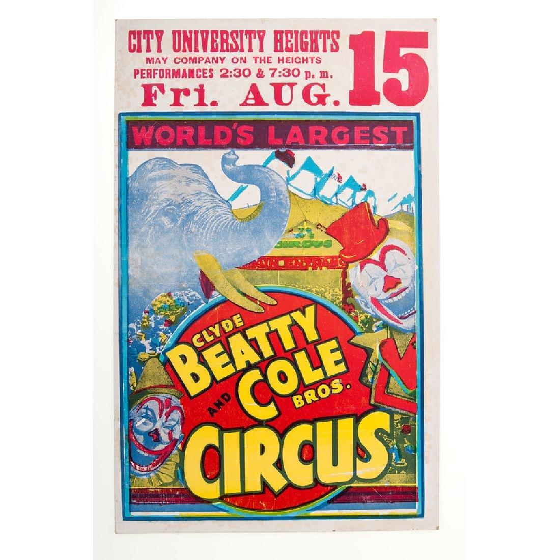 American Circus Posters - 3