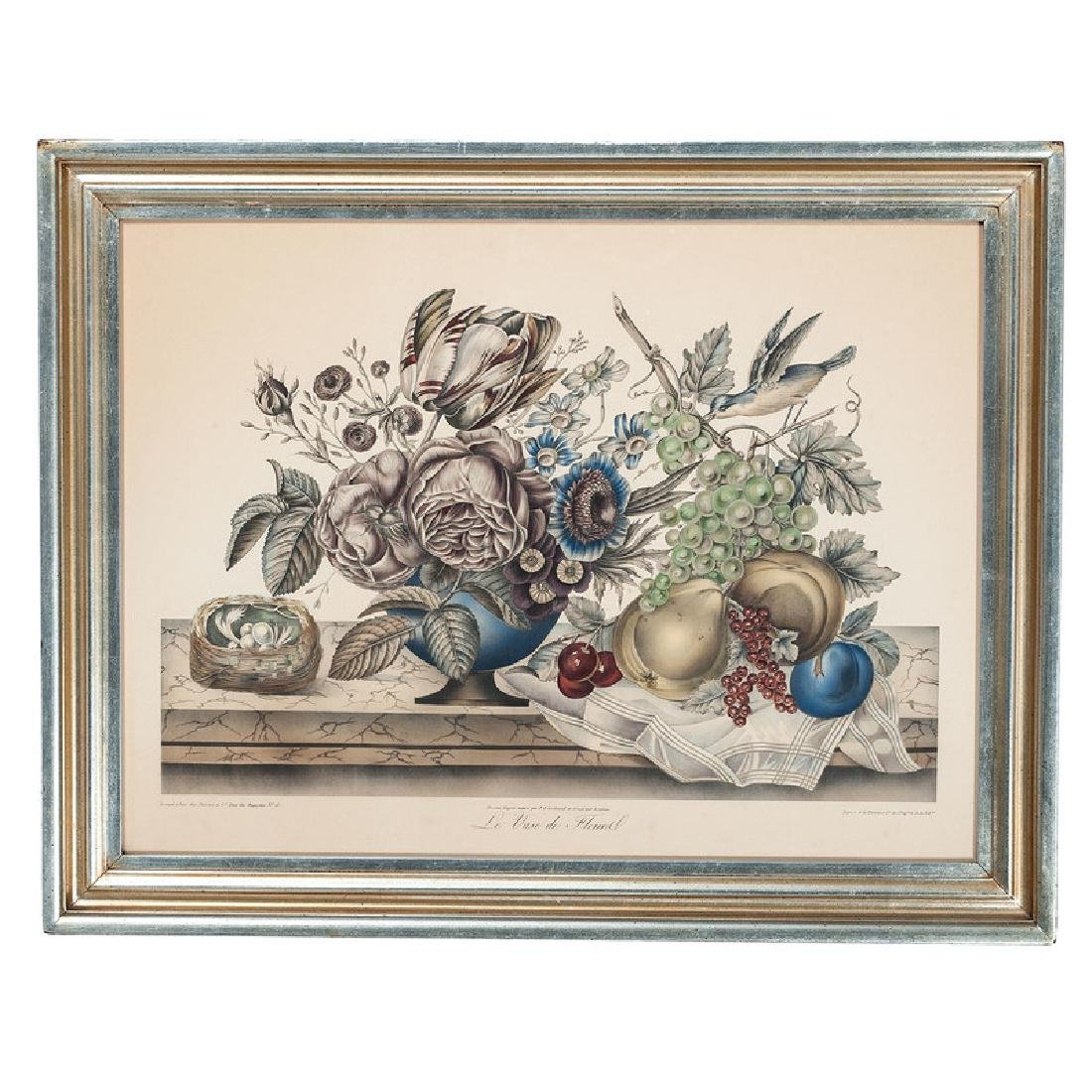 French Still Life Lithograph - 2