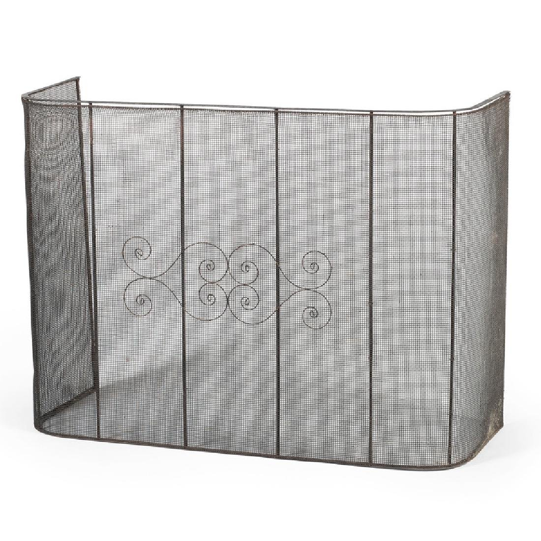 Wirework Fireplace Screen