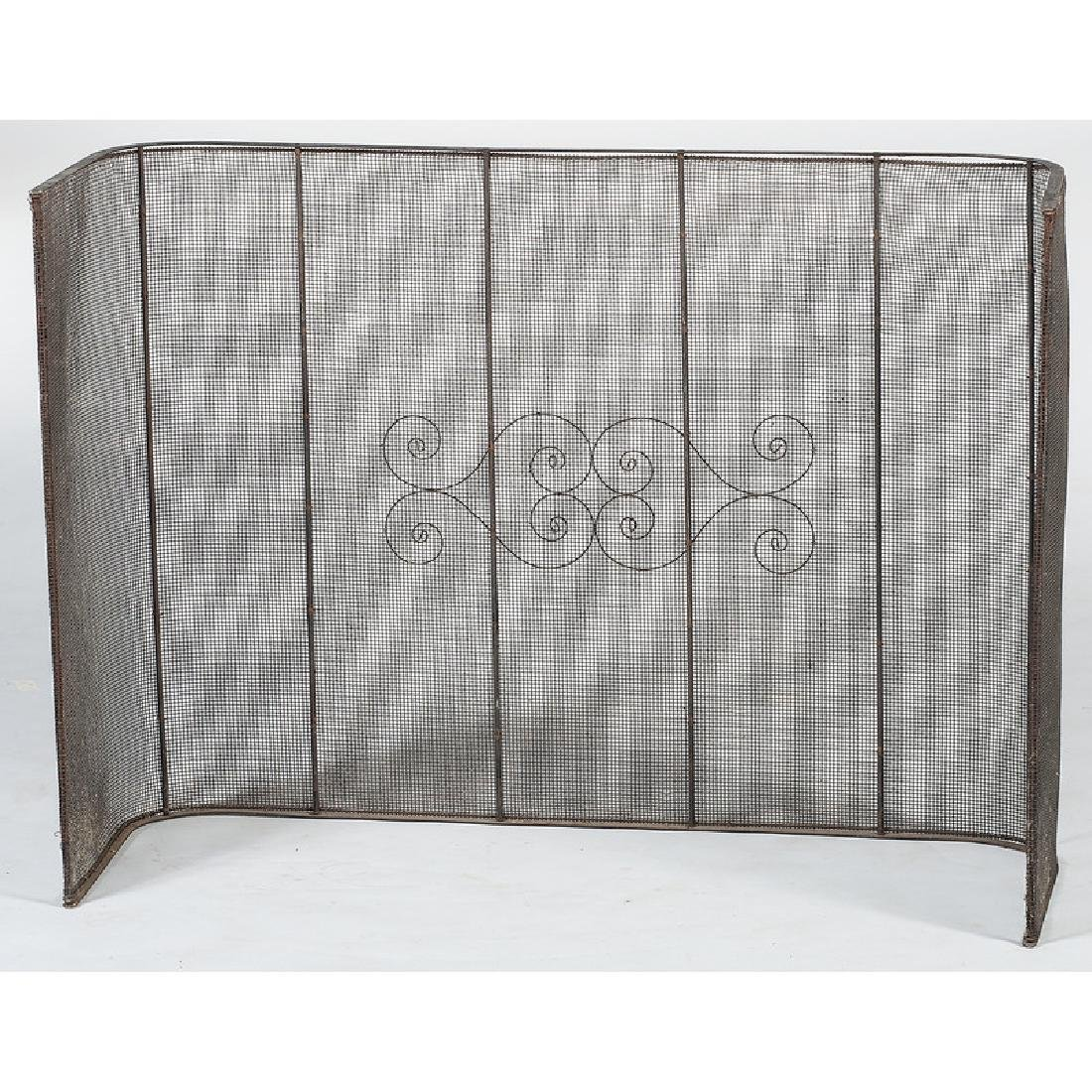 Wirework Fireplace Screen - 2