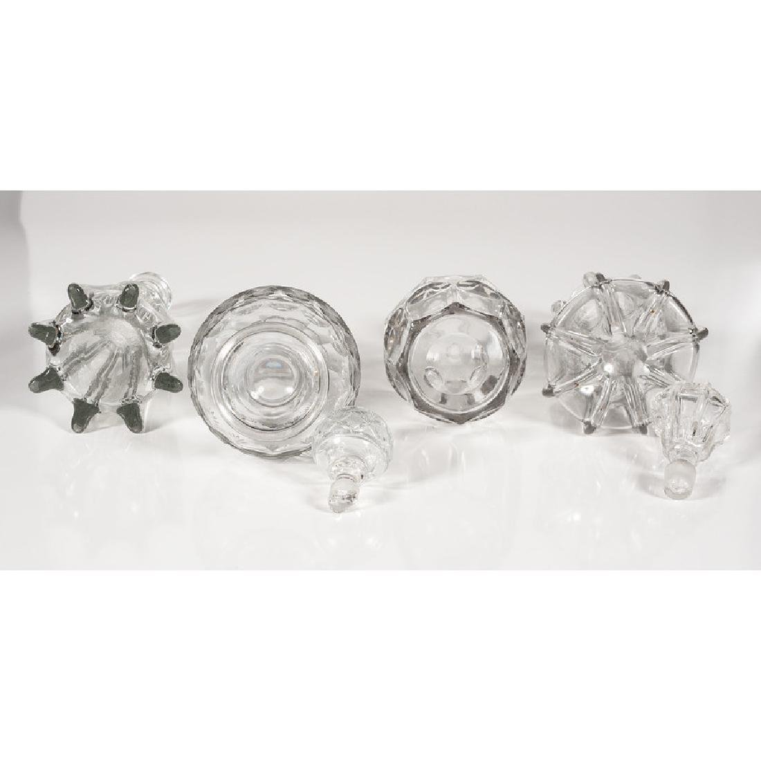 Pittsburgh Glass Decanters - 4