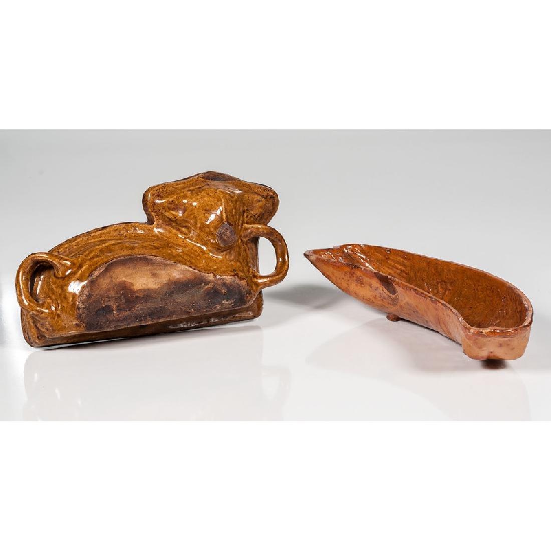 Animal Form Yellow Ware Molds