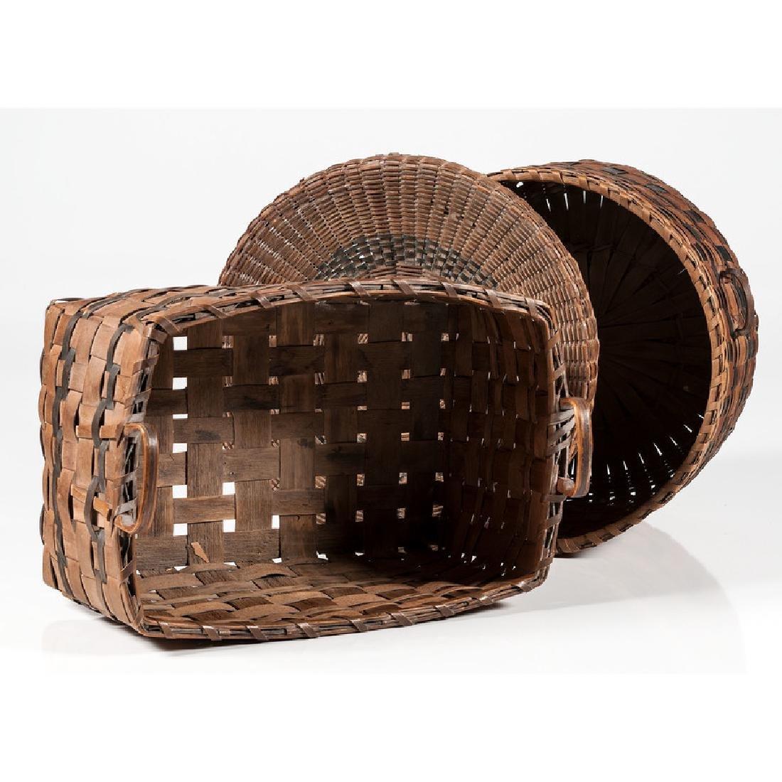 Polychrome Woven Baskets - 2
