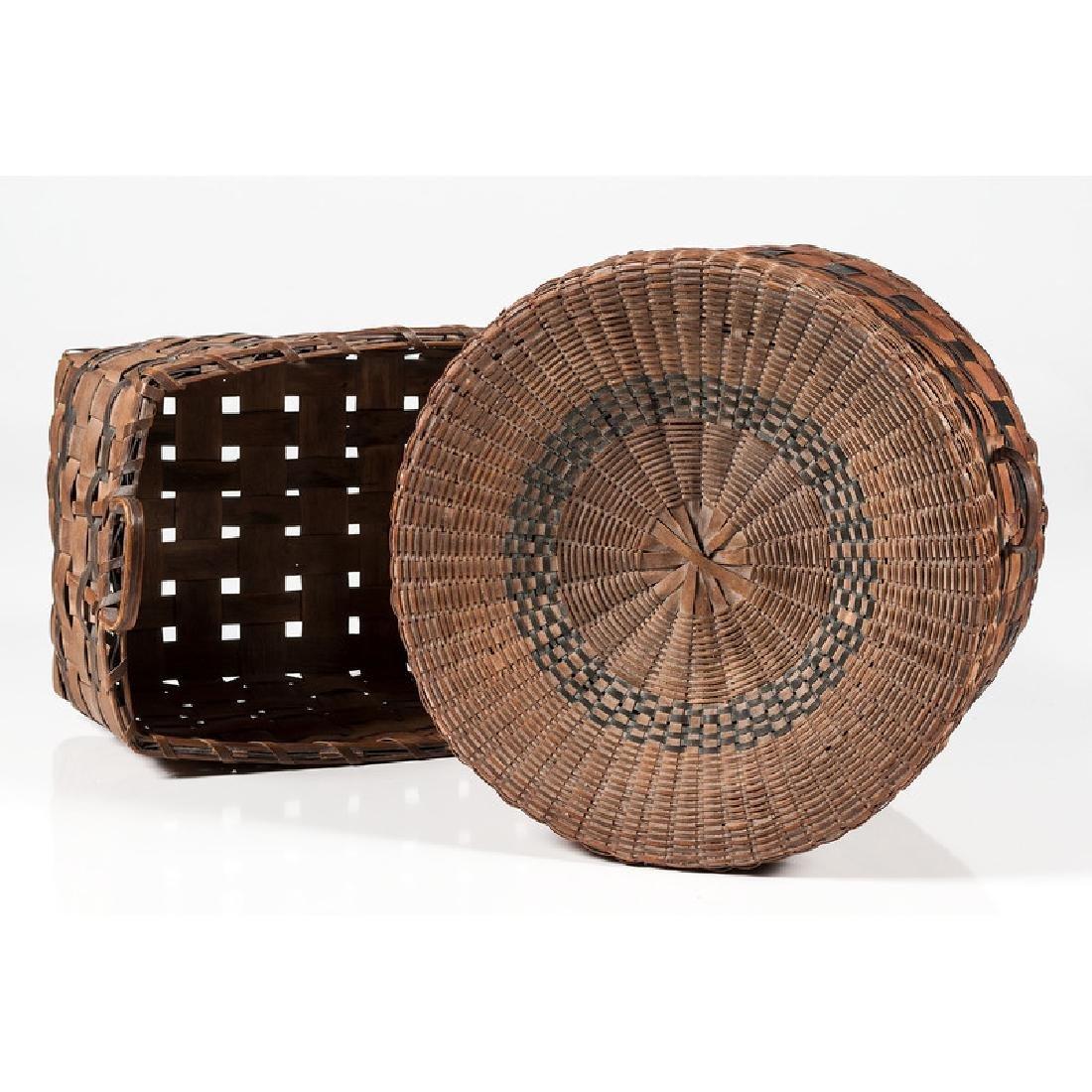 Polychrome Woven Baskets - 3