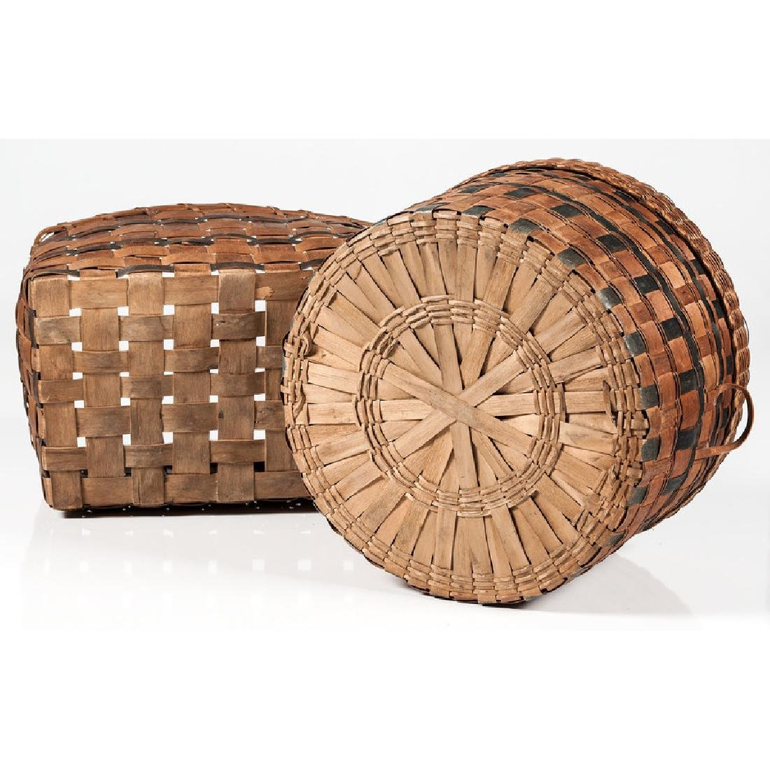 Polychrome Woven Baskets - 4