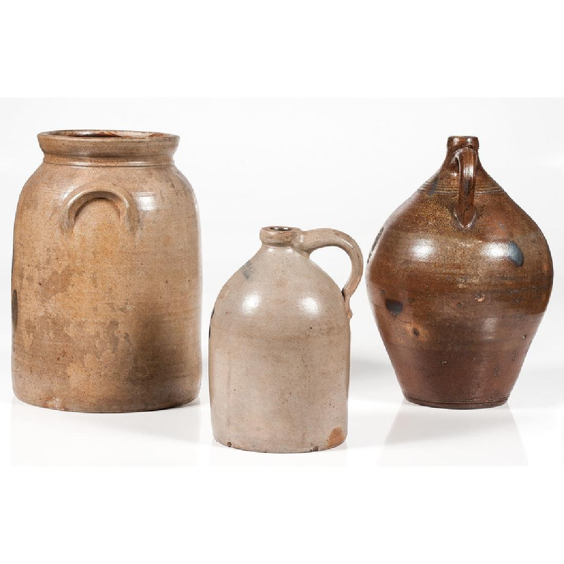 Stoneware Jugs and Crock - 2