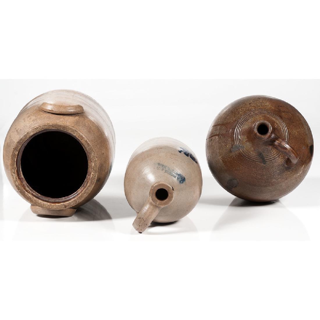 Stoneware Jugs and Crock - 5