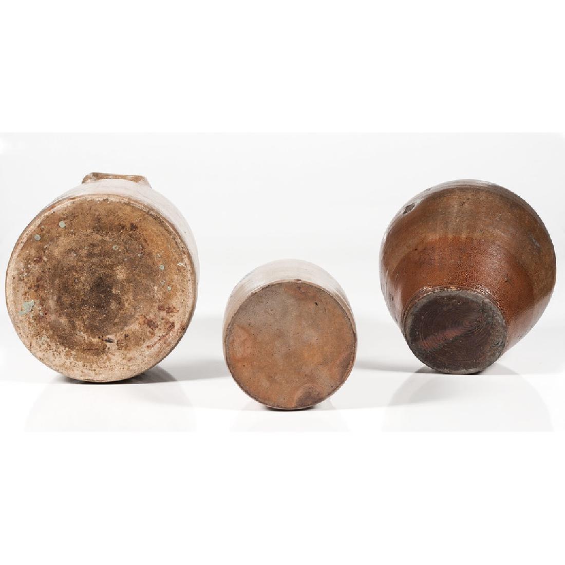 Stoneware Jugs and Crock - 6