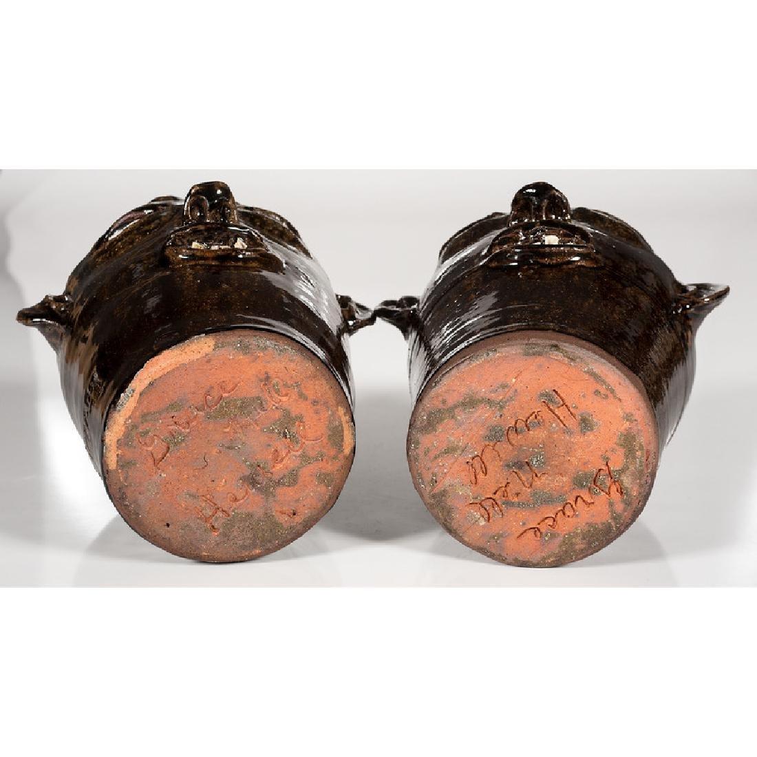 Earthenware Face Jugs by Grace Nell Hewell - 6